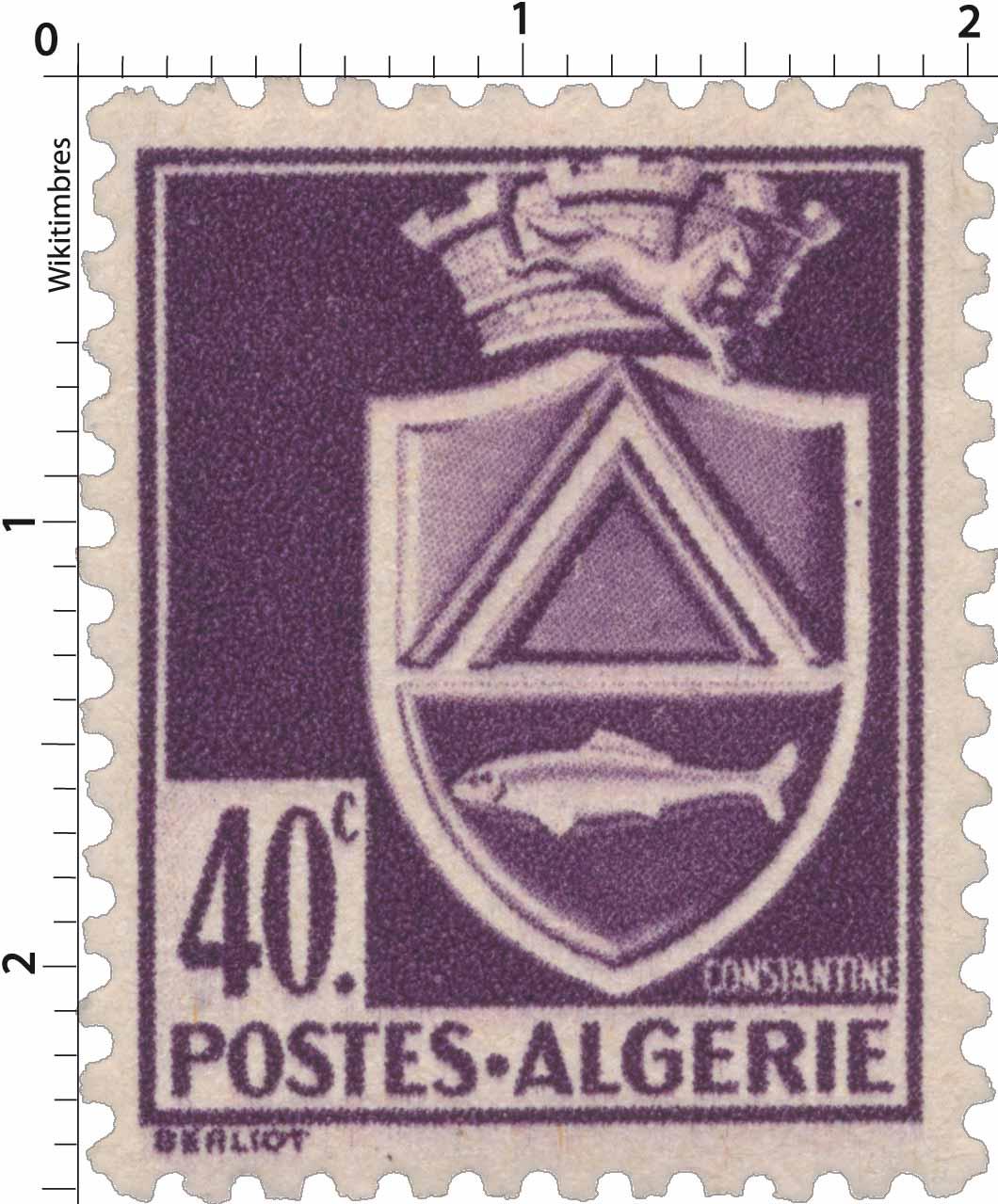 Architecture Timbre Algerie Neuf N° 176 ** Oran