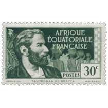 Savorgnan de Brazza Afrique Équatoriale Française