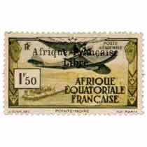 Pointe-Noire Afrique Équatoriale Française Poste aérienne