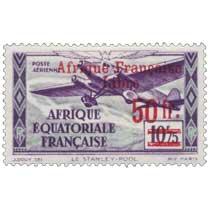 Le Stanley-Pool Afrique Équatoriale Française poste aérienne