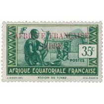 Région du Tchad Afrique Équatoriale Française