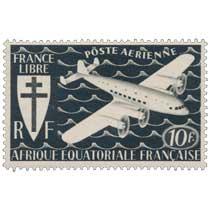 France libre Afrique Équatoriale Française poste aérienne