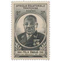Félix Éboué 1884 1944 premier résistant de l'empire