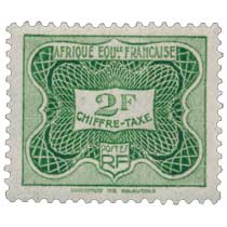 Chiffre taxe Afrique Équatoriale Française