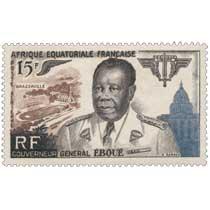 Gouverneur général Éboué Afrique Équatoriale Française