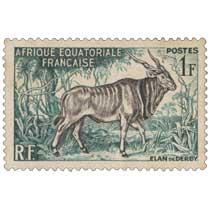 Élan de Derby Afrique Équatoriale Française