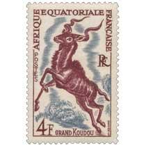 Grand Koudou Afrique Équatoriale Française