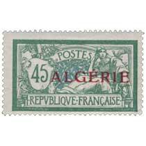 Algérie - Type Merson