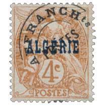 ALGERIE - Type Blanc