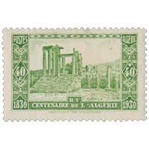Algérie - Djemila - Centenaire de l'Algérie 1830 - 1930