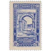 Algérie - Djemila - Centenaire de l'Algérie 1930