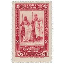 Algérie - Touaregs - Centenaire de l'Algérie 1930