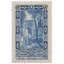 Algérie - Cimetière musulman à Tlemcen