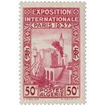 Algérie - Pavillon algérien de l'exposition