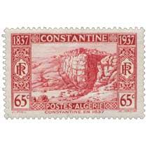 Algérie - Constantine en 1837