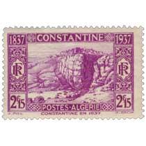Algérie - Constantine, en 1837