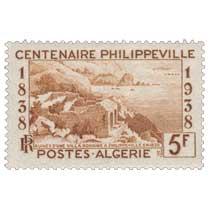 Algérie - Ruine d'une villa romaine à Philippeville en 1838 - centenaire Philippeville
