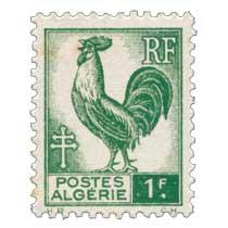 Algérie - Type Coq d'Alger