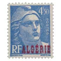 Algérie - Type Marianne de Gandon