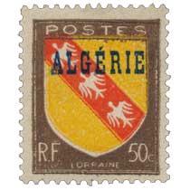 Algérie - Provinces françaises