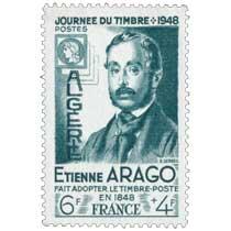 Algérie - Journée du timbre E. Arago fait adopter le timbre poste en 1848