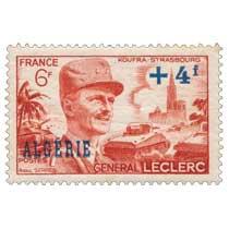Algérie - Général Leclerc - Koufra Strasbourg