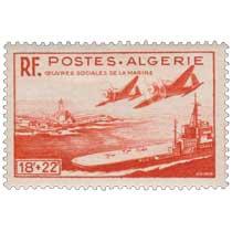 Algérie - Œuvres sociales de la marine