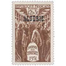 Algérie - Journée du timbre 1951