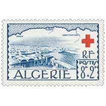 Algérie - Vue d'El Oued et rivage de l'Algérie