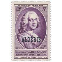 Algérie - D'Argenson