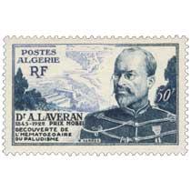 Algérie - Dr A Laveran 1845 - 1922 prix Nobel Découverte de l'hématozoaire du paludisme