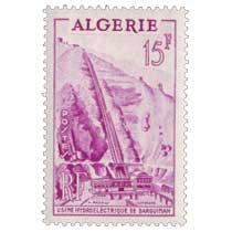Algérie - Usine hydroéléctrique de Darguinah