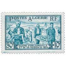 Algérie - Séisme d'Orléansville et de sarégion 1954