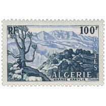 Algérie - Grande Kabylie