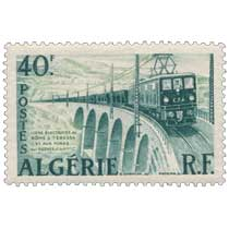 Algérie - Ligne électrifiée de Bône à Tebessa et aux mines del Ouenza du Kouif