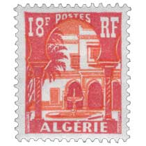Algérie - Cour mauresque du musée du Bardo