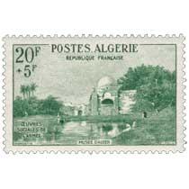Algérie - Oued, par Fromentin