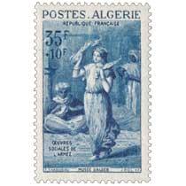 Algérie - Danseuse, par Chasseriau