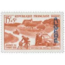 Algérie - Journée du Timbre 1958