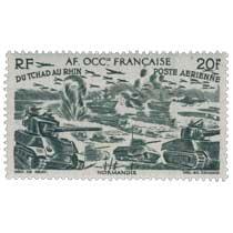 Afrique Occidentale Française - type du Tchad au Rhin