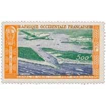 Afrique Occidentale Française - Canal de Vridi  port d'Abidjan