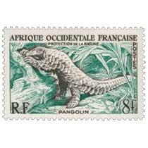 Afrique Occidentale Française - Protection de la nature - Pangolin