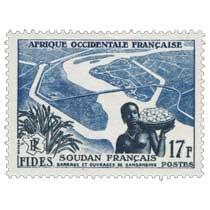 Afrique Occidentale Française - F.I.D.E.S. - Barrage et ouvrages de Sansanding  Soudan français