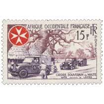 Afrique Occidentale Française - Ordre souverain de Malte et lutte contre la lèpre