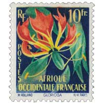 Afrique Occidentale Française -  Gloriosa