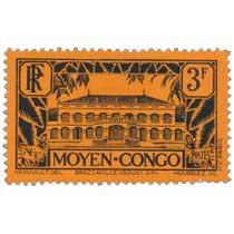 Congo - Palais du gouverneur, à Brazzaville