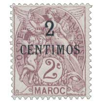 1907 Maroc - Type Blanc