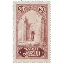 1917 Maroc - Porte de Chella - Rabat