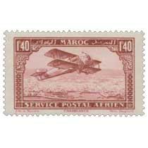 1922 Maroc - Avion survolant Casablanca