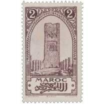 1923 Maroc - Tour Hassan - Rabat
